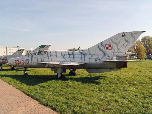 Krakow Mig-21UM